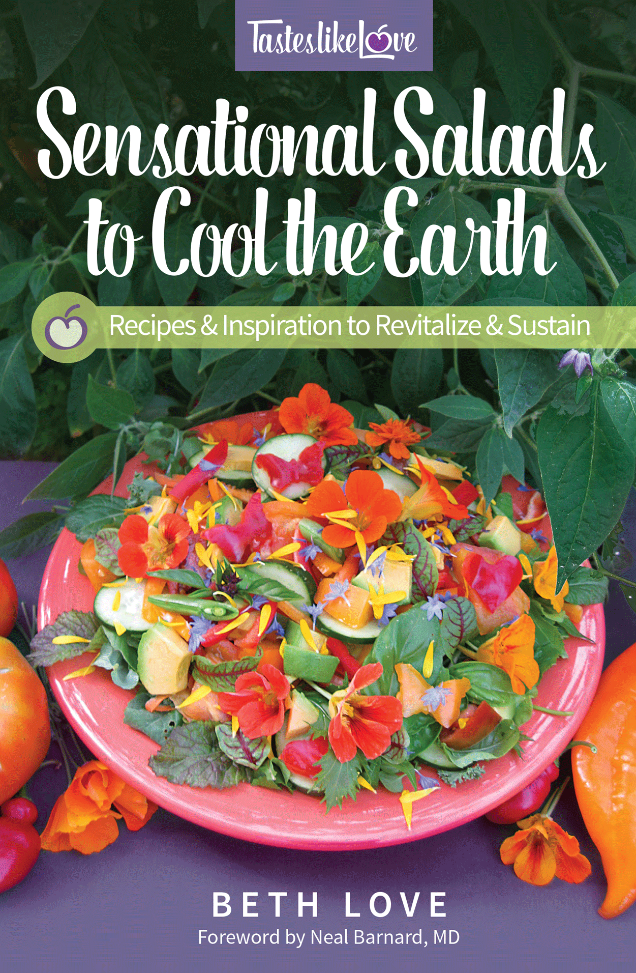 Cover of book: Sensational Salads to Cool the Earth